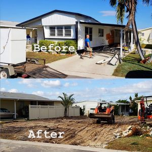 Exterior Demolition Services in Palm Beach County